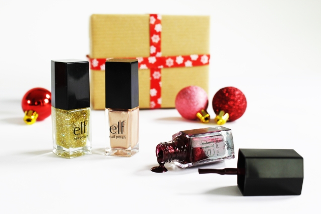 elf Nail Polish set in Glam Bam