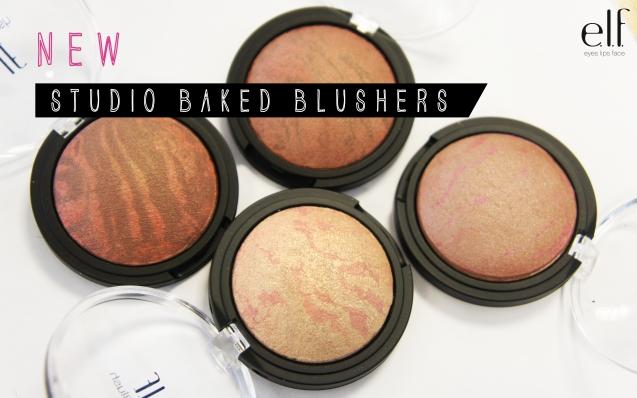 elf studio baked blushers
