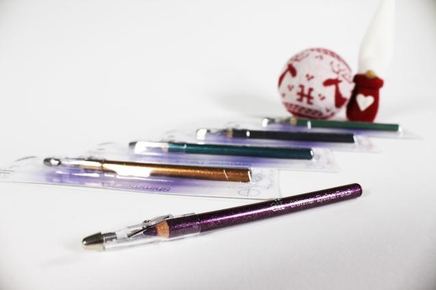 Elf Shimmer pencils
