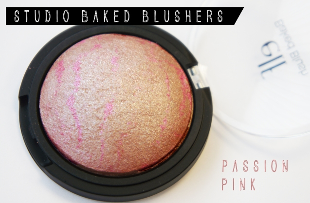 elf Studio Baked Blush Passion Pink