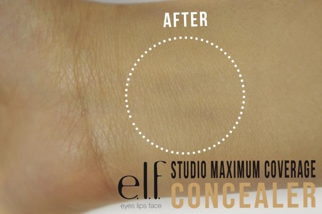 elf Studio Maximum Coverage Concealer