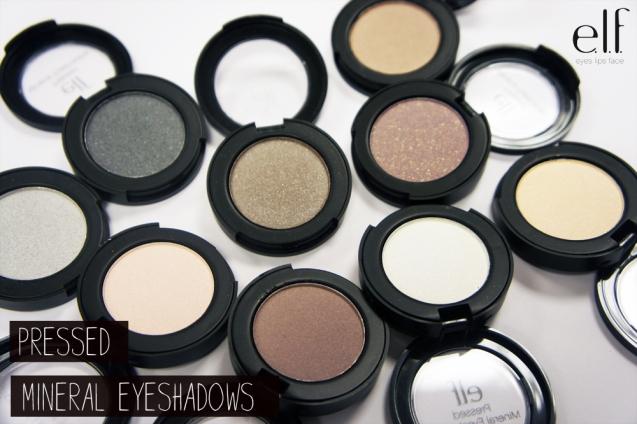 elf Pressed Mineral Eyeshadows