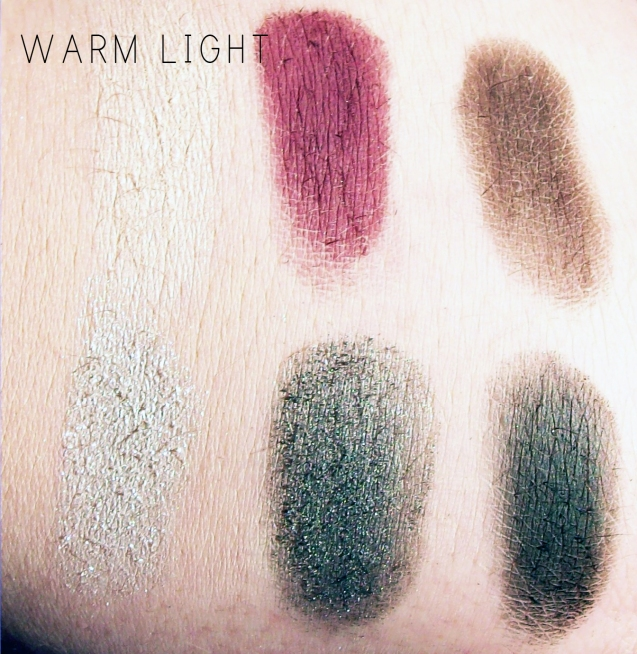 Elf Beauty Book Swatches