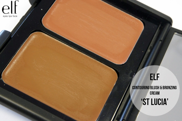 elf Contouring Blush & Bronzing cream Duo in St Lucia
