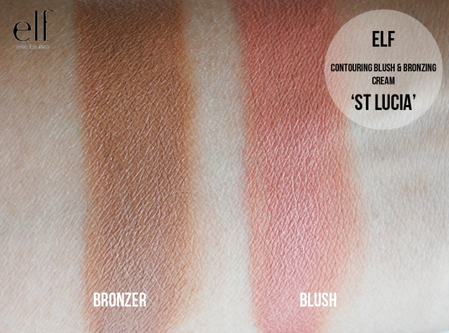 elf Contouring Blush & Bronzing cream Duo