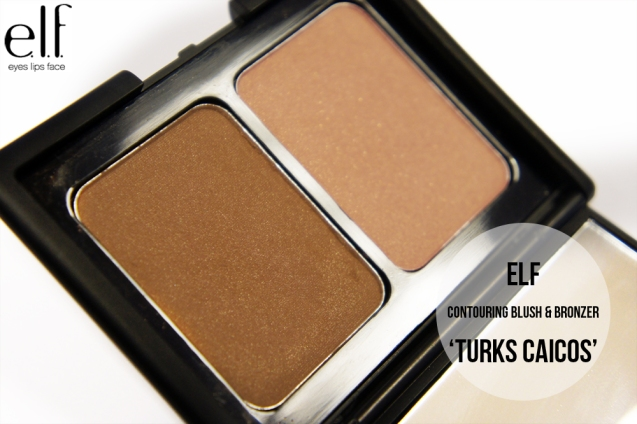 elf Contouring Blush & Bronzer Duo in Turks Caicos