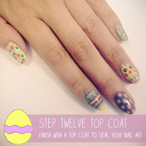 elf Easter Nail Art tutorial