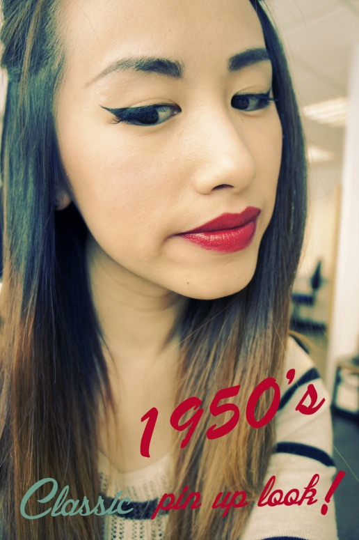 Classic Pin up Make up