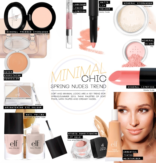 Minimal Chic Product Collage