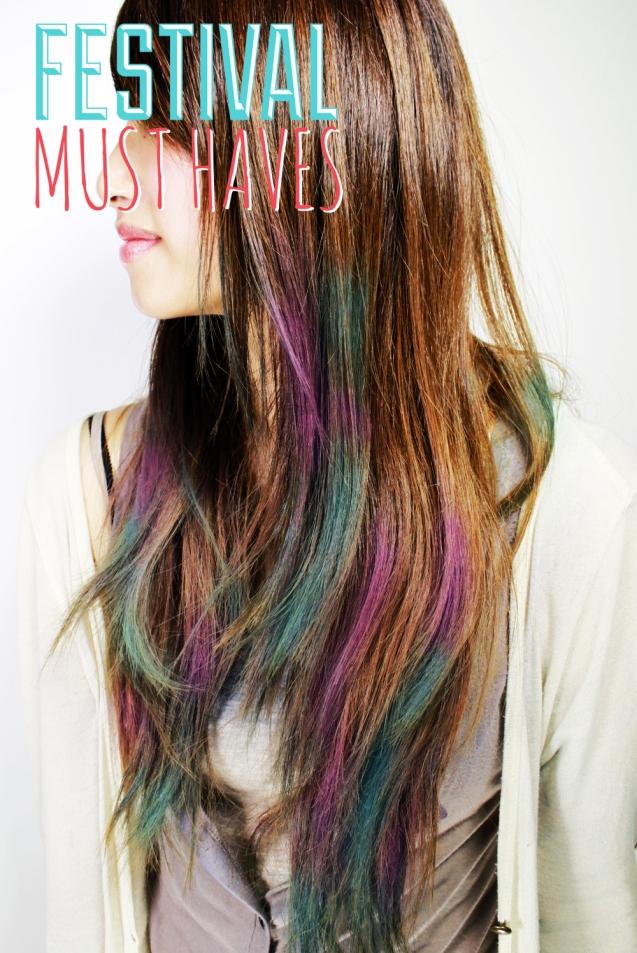 Festival Hair colour