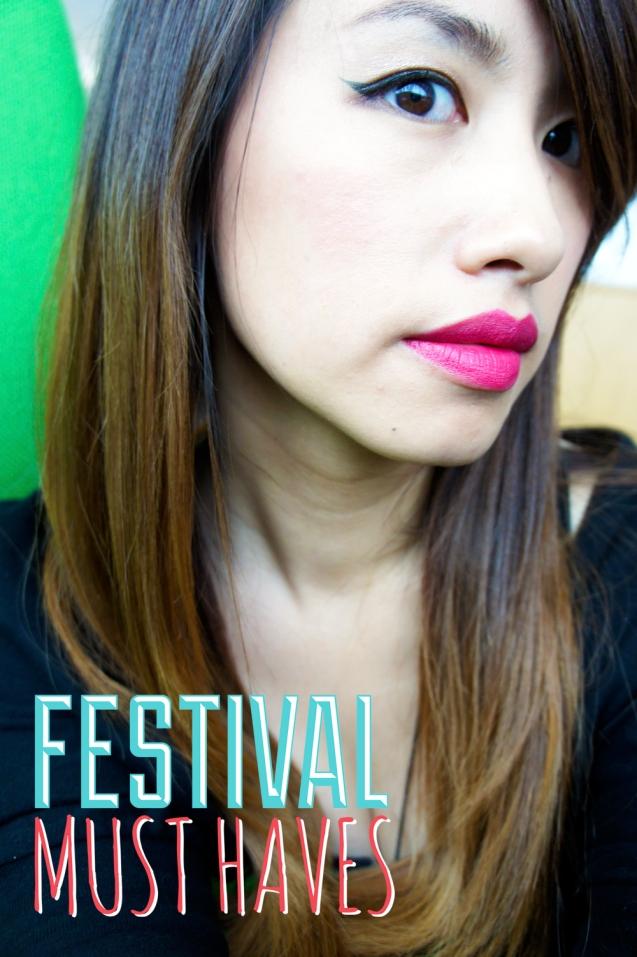 e.l.f. HD Blush on lips