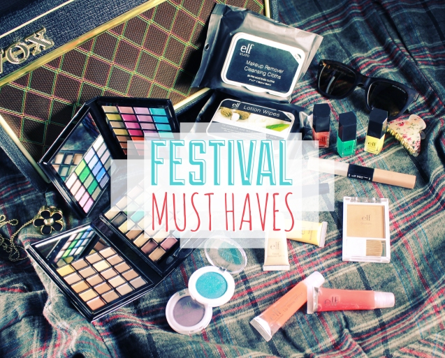 ELF FESTIVAL MAKEUP MUSTHAVES