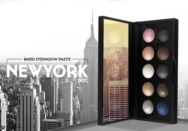 elf studio Baked Eyeshadow Palette Newyork