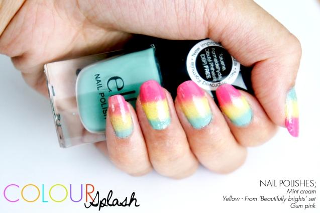 Elf nail polishes