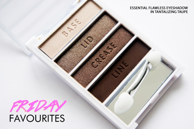 Elf Flawless Eyeshadow in tantalising Taupe