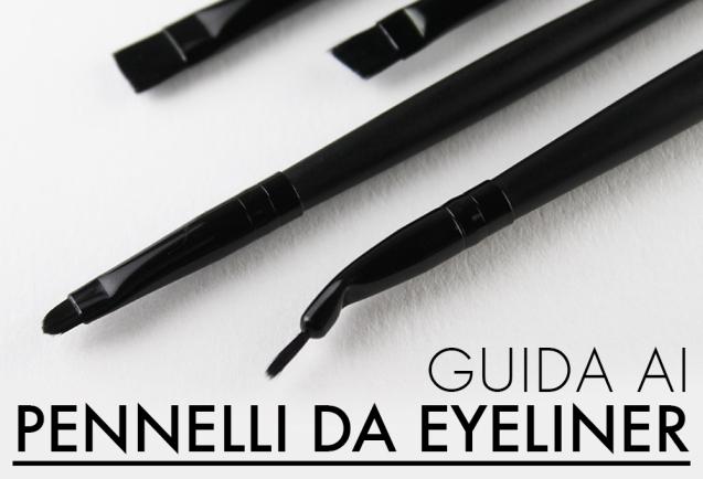 Guida ai pennelli da eyeliner elf Studio
