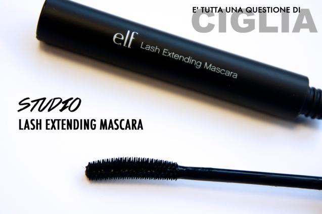studio lash extending mascara elf