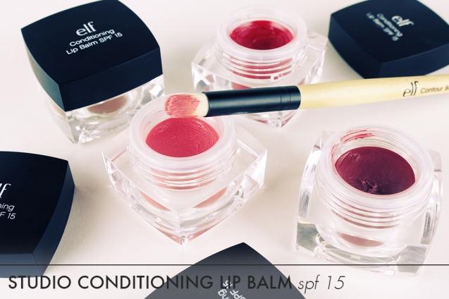 elf studio conditioning lip balm