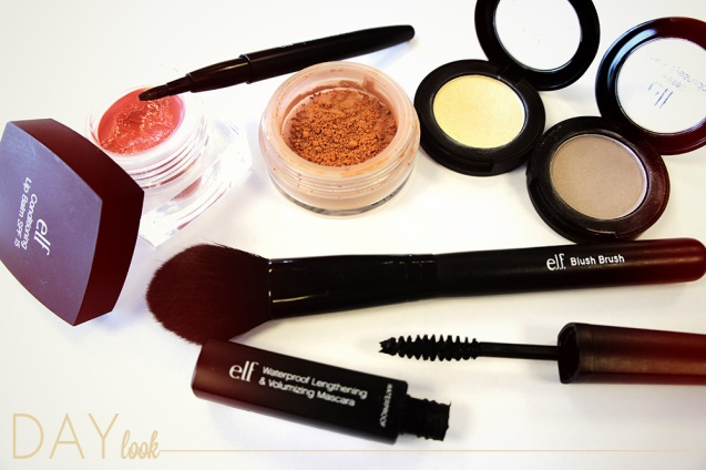 products used  to create day look