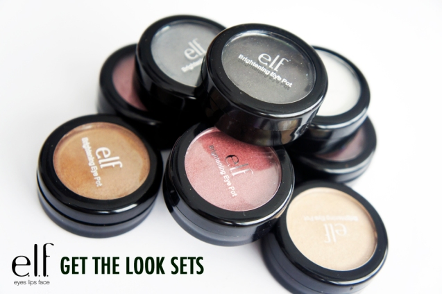 elf brightening eyeshadows