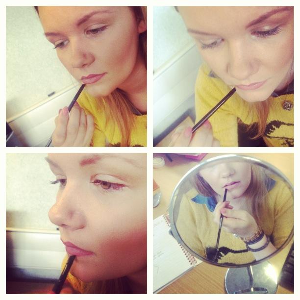 lip linning lipstick - instagrammed