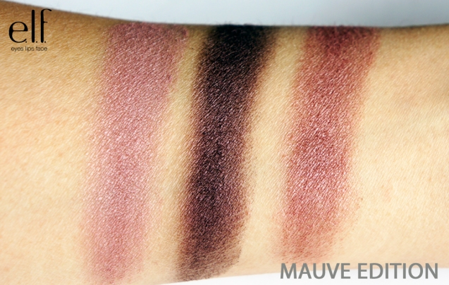 elf get the look mauve edition swatch
