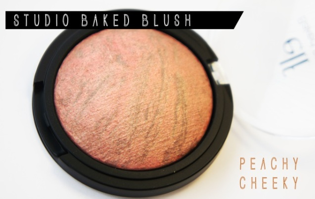 elf baked blush peachy cheeky