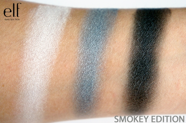 elf get the look smokey edition swatch