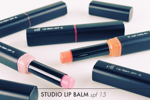 elf studio lip balm