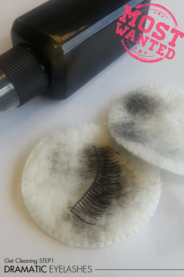 Dramatic eyelashes how to clean 1