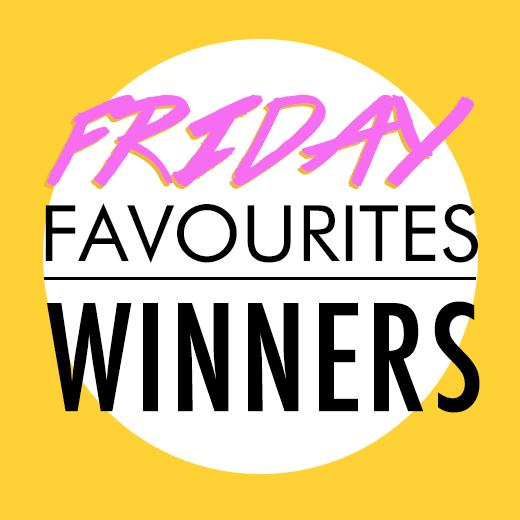 friday favoutites(winners18.11)