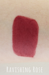 e.l.f Ravishing Rose swatch