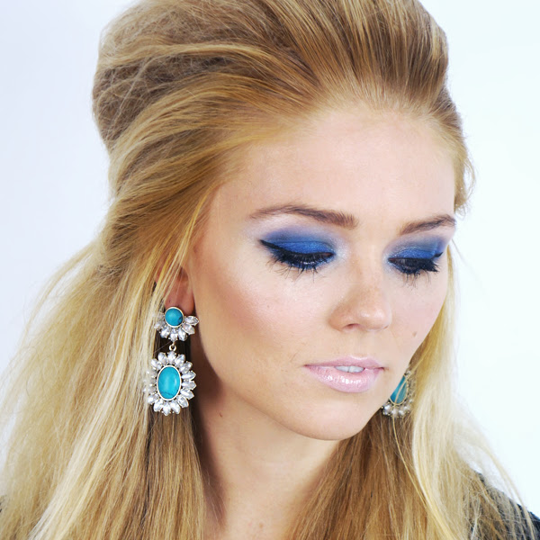 80's inspired eye makeup