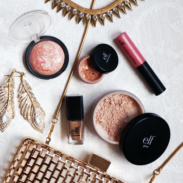 Rose toned Makeup