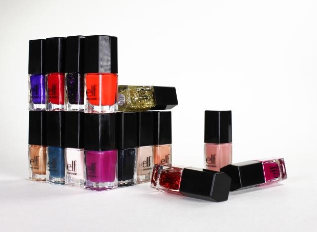 15 pc nail polish cube