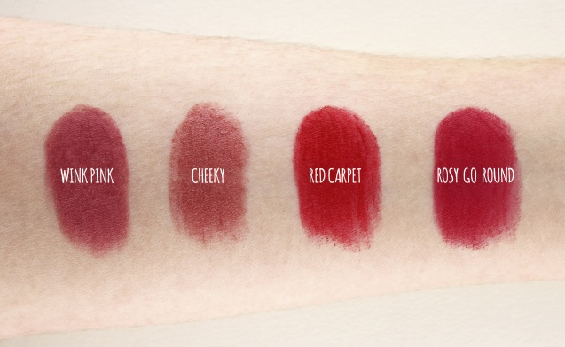 elf Studio Moisturising Lipsticks swatch 2