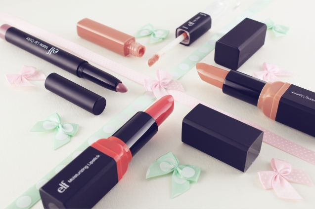 Pretty pastels lips