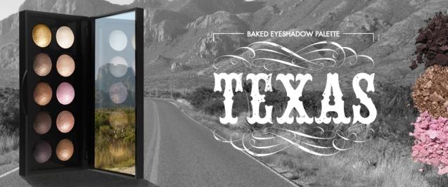 Texas baked palette