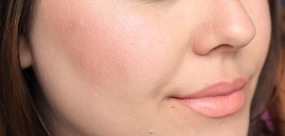 elf makeup look cheeks
