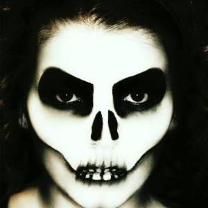 e.l.f. Skeleton Makeup