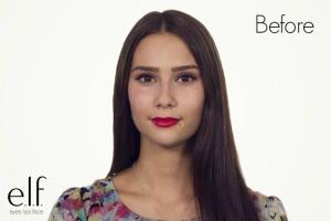 No base makeup